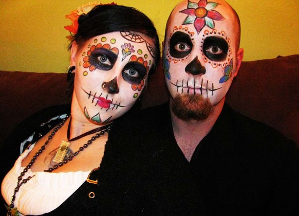 Day of the Dead Makeup Ideas 41