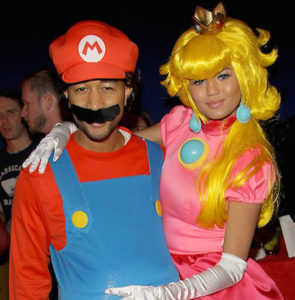 Nintendo And John Legend Celebrate Chrissy Teigen's 28th Birthday In West Hollywood, CA