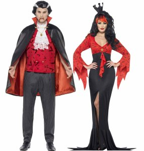 vampire-halloween-couple-costume