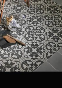 Moroccan Tiles   Patterned   Encaustic Cement Flooring UK Sefrou Moroccan Cement Tiles