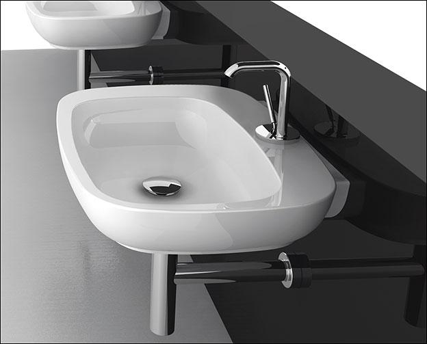 afon wall mounted basin 14a