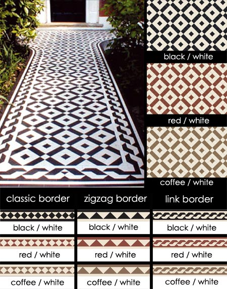 coliford geometric flooring tiles 101d