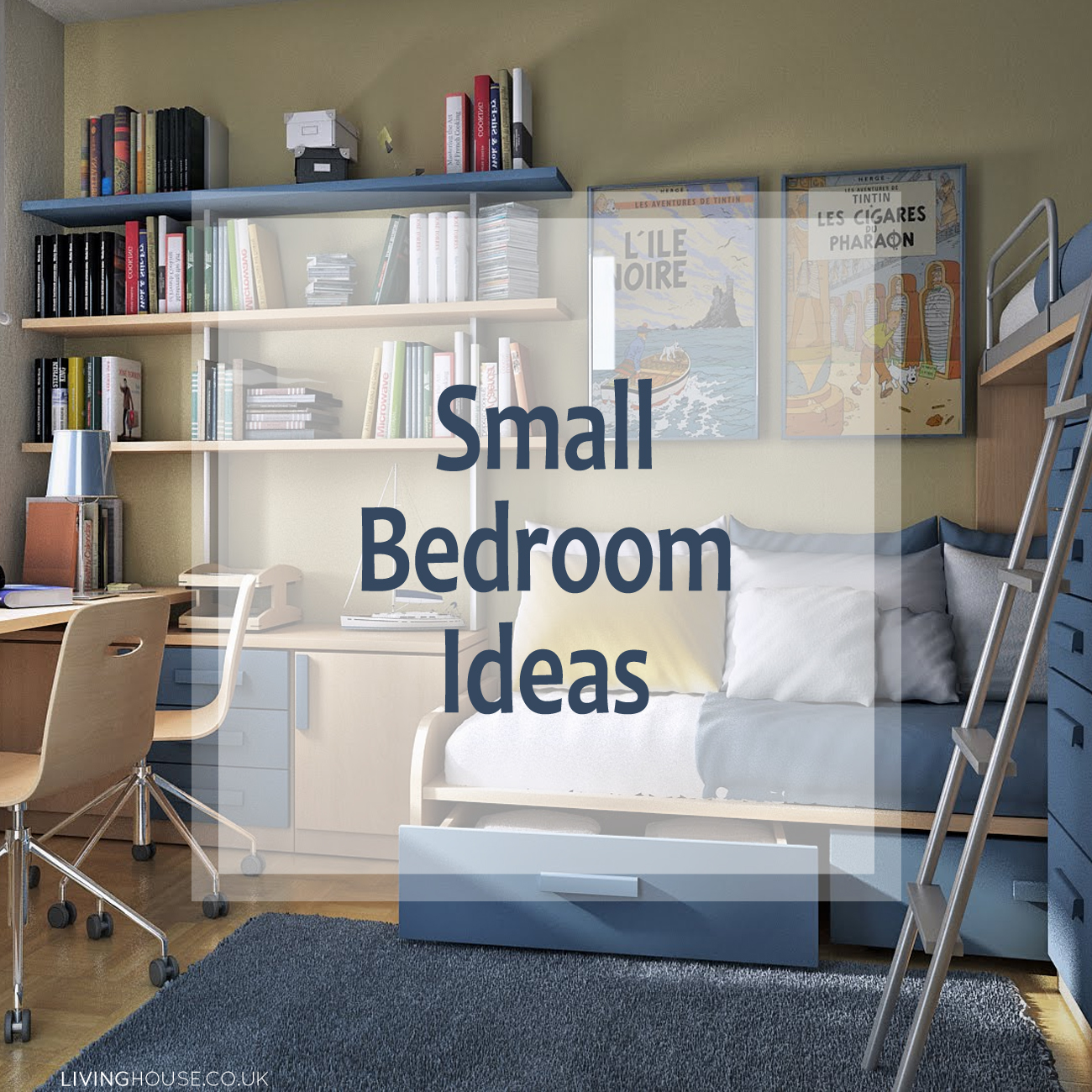 Small Bedroom Ideas Livinghouse Blog
