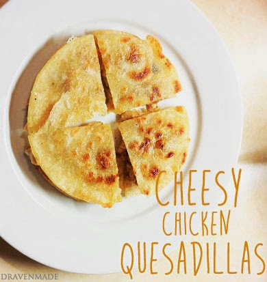 quesadilla cheese dairy gluten free recipe