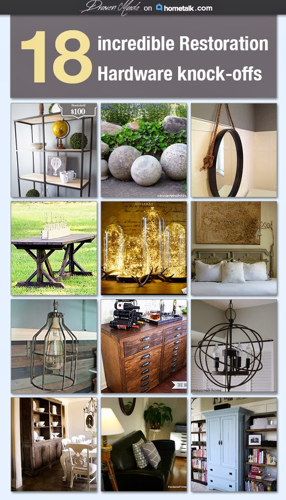 18 Restoration Hardware Knockoff Projects