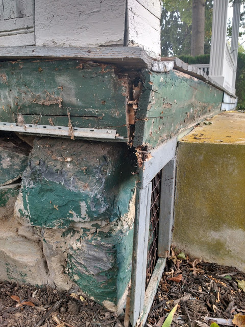 rotting front porch