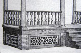old house historical porch skirt design
