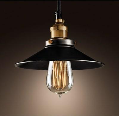 industrial ceiling pendant lamp edison bulb