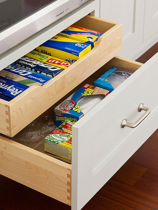 double storage drawers