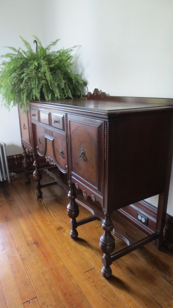 antique buffet sideboard victorian dining room auction find living in a fixer upper