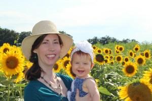 headshot mama sunflowers