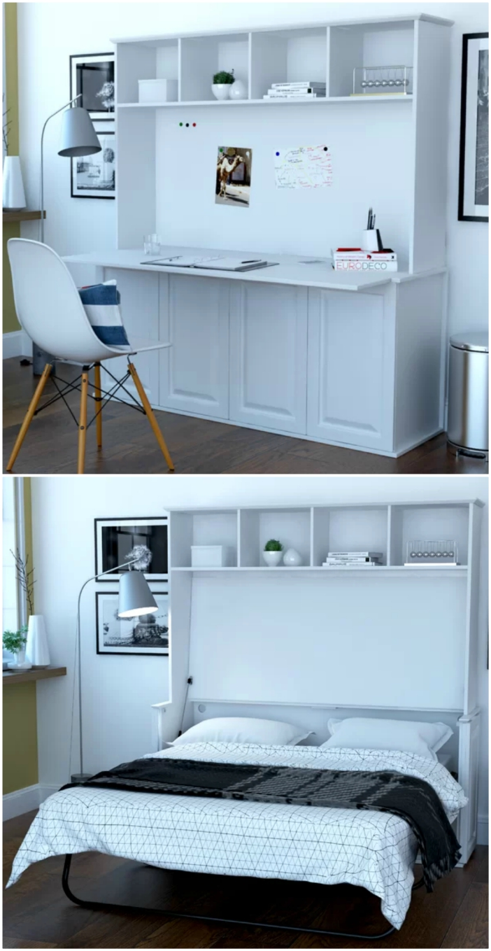 10 Murphy Beds That Convert Any Room To A Bedroom In Seconds