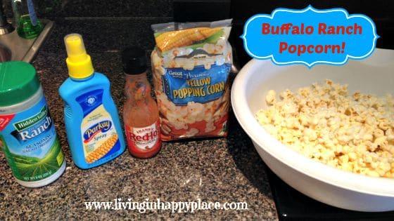 Buffaol Ranch Popcorn recipe