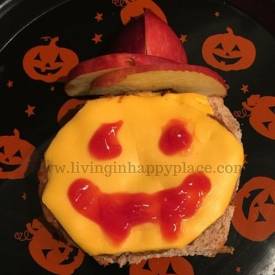 healthy halloween lunch