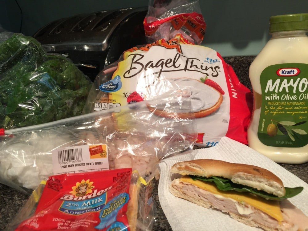 Quick, easy, healthy lunch sandwich recipe