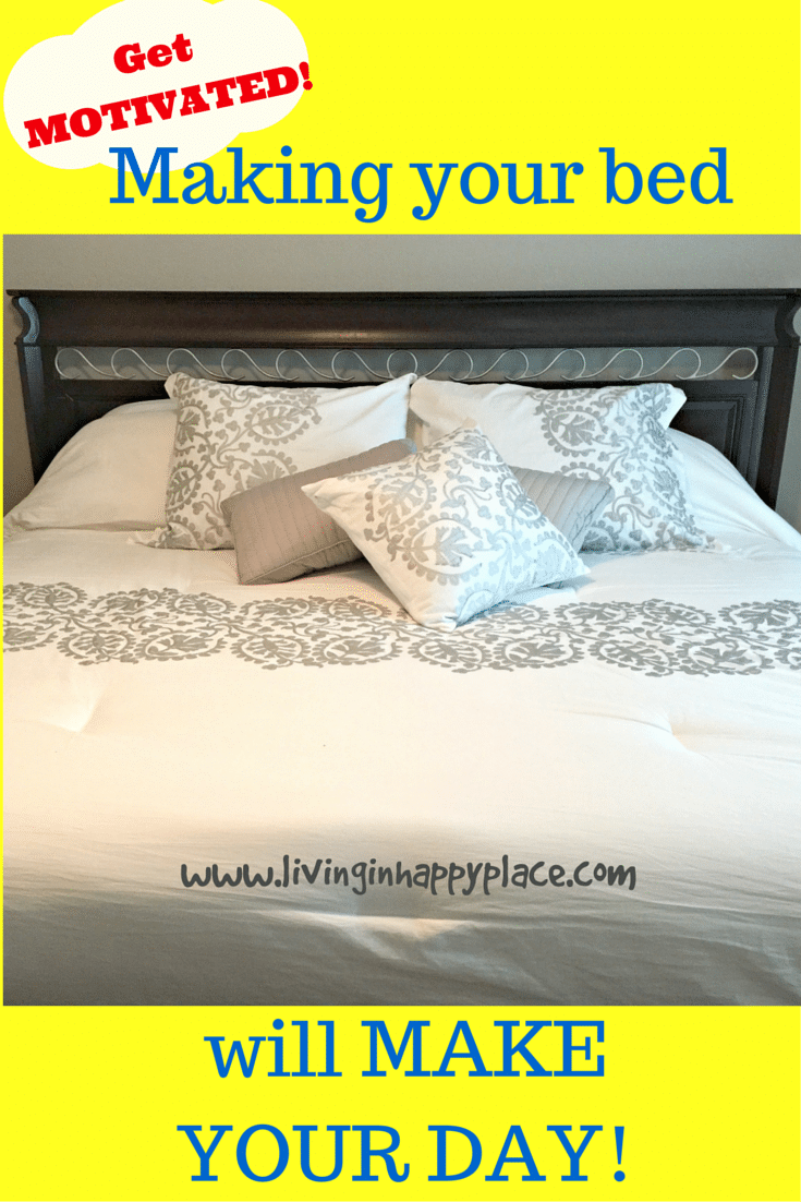 Find motivation by making your bed