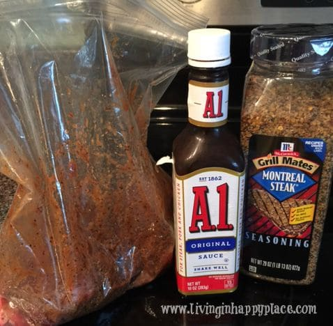 Easy and delicious steak marinade