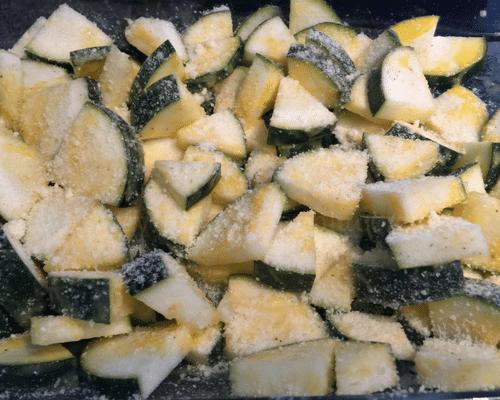 zucchini recipe prep