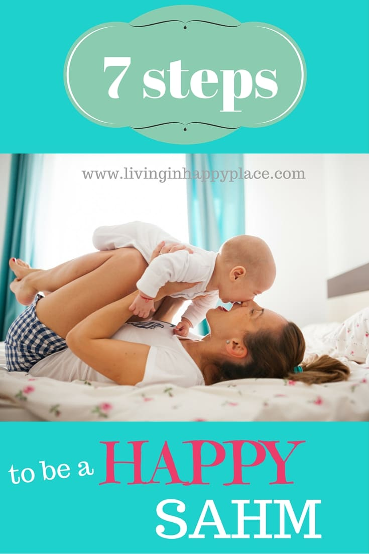 Be a happy stay-at-home-mom