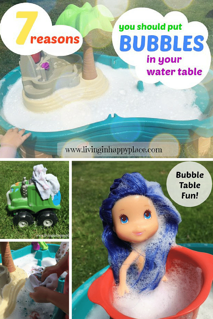Bubble Water Tale kids activity