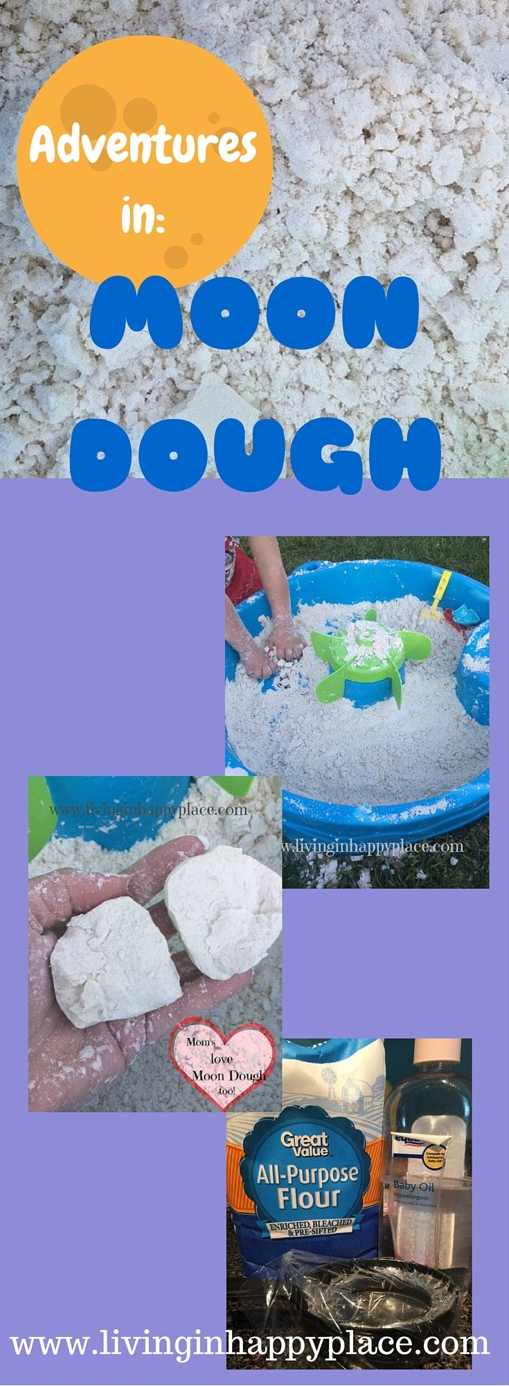 DIY Moon Dough