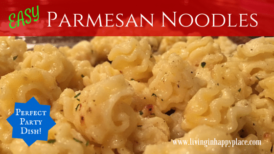Quick and Easy Parmesan Noodle Recipe
