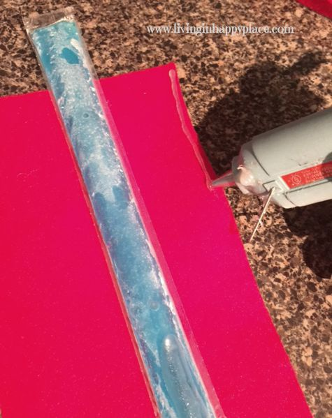 DIY freeze pop holder