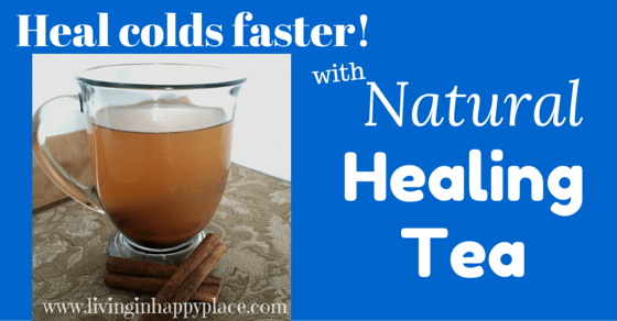 Natural cold remedy tea