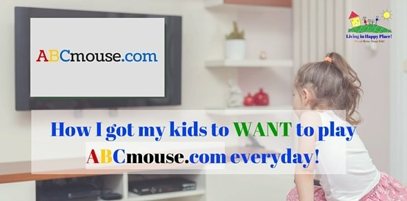 How I got my kids to want to play ABCmouse.com everyday