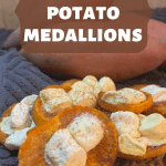 sweet potato medallions