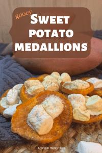 sweet potato medallions