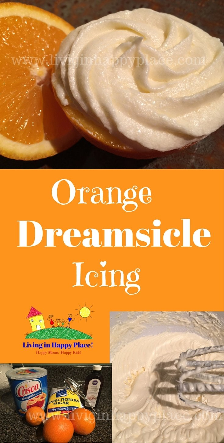 Orange Dreamsicle Icing Recipe