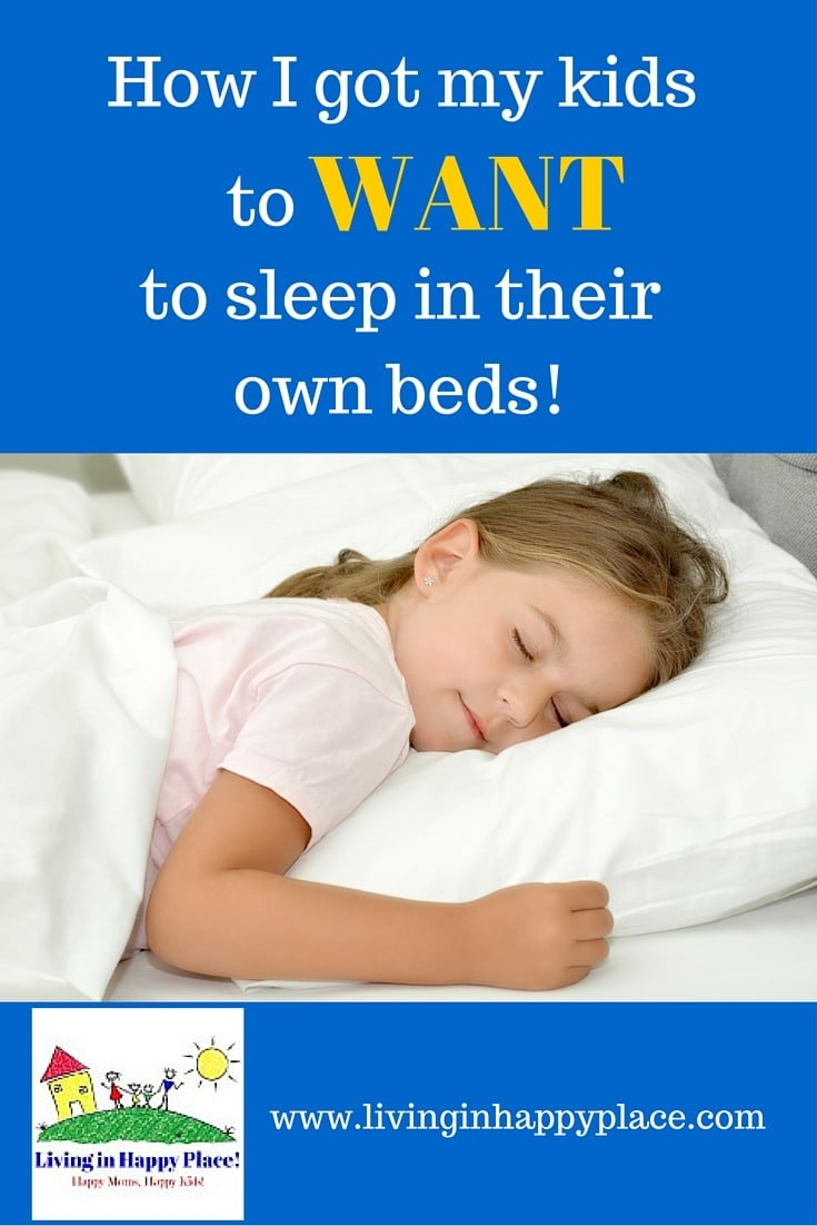 kids sleep in their own beds