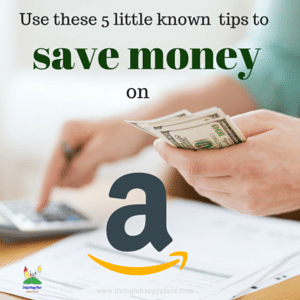 saving money with Amazon