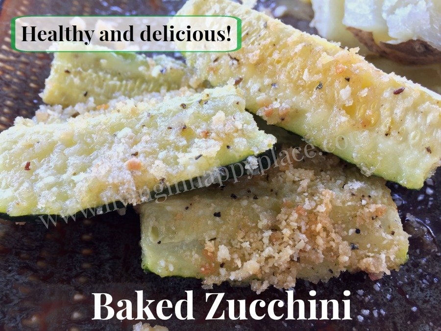 easy and healthy baked zucchini recipe