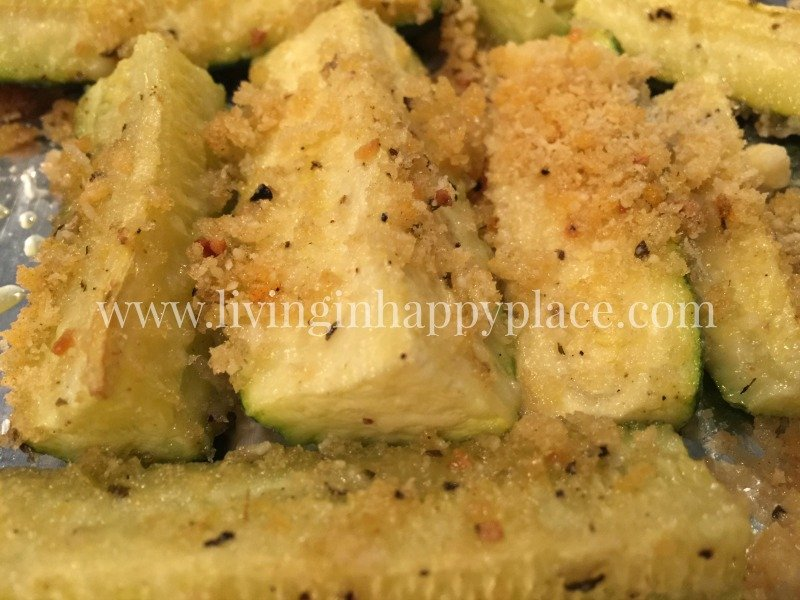 Baked Zucchini Spears