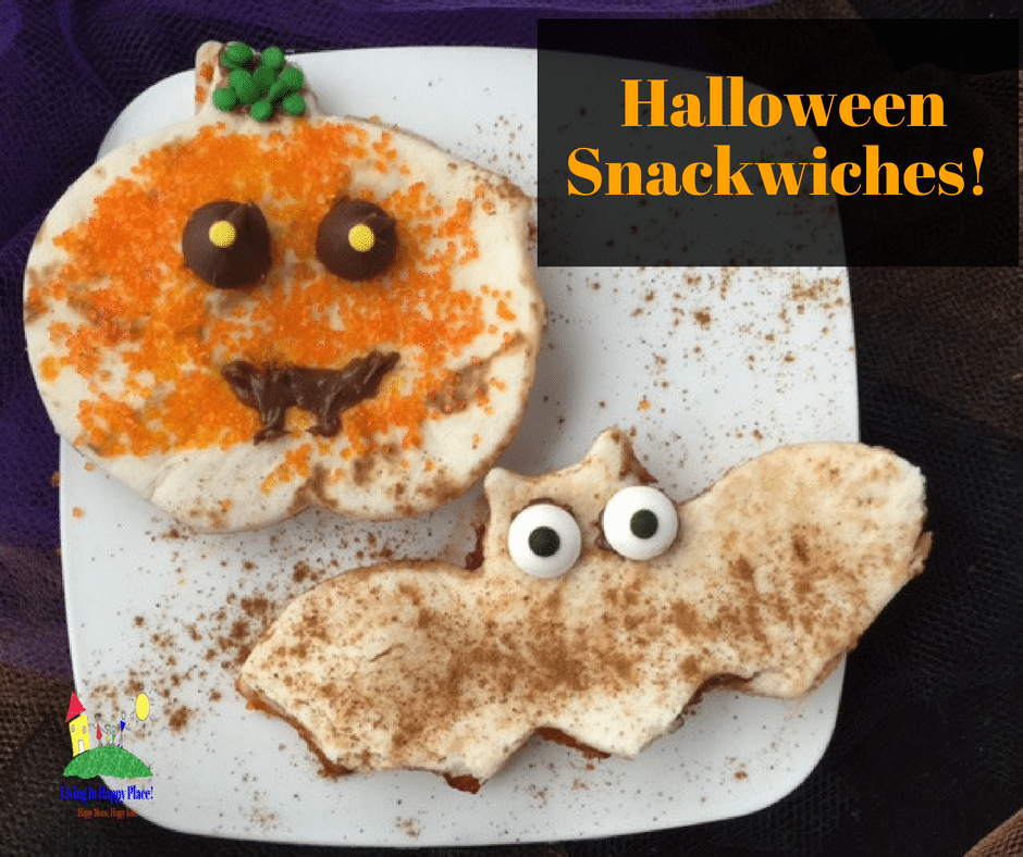 healthy Halloween lunch idea for toddlers