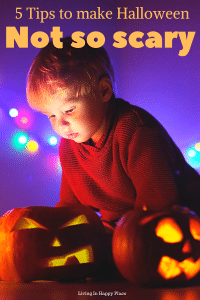 Making halloween less scary for kids