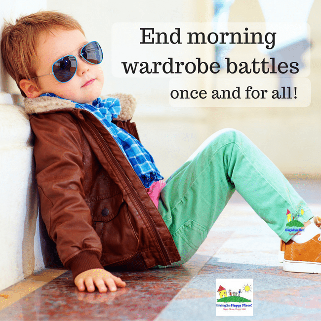 Tips to end the morning wardrobe battle
