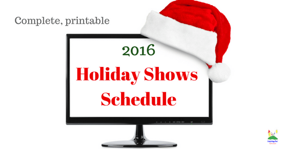 The COMPLETE 2016 Holiday Shows Schedule for Kids