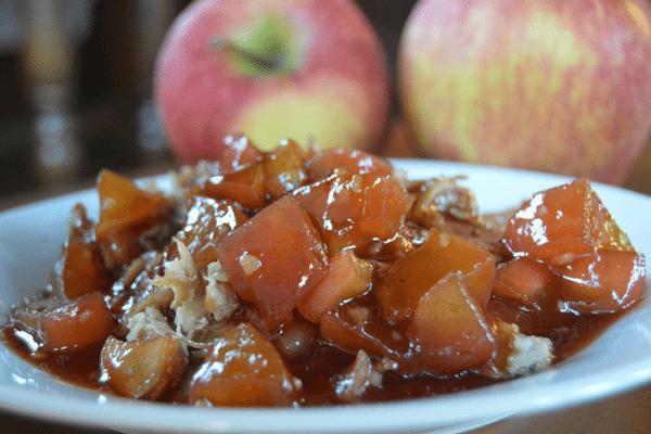 Apple Barbecue Pork Glaze