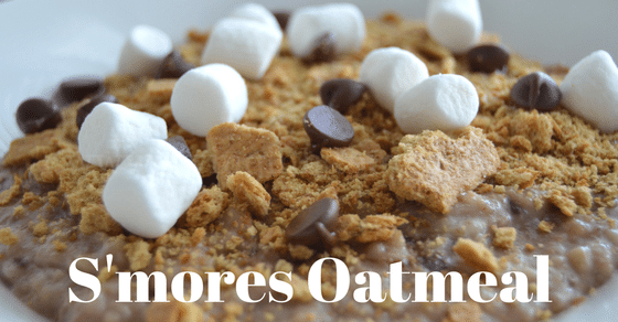 S'mores Oatmeal recipe
