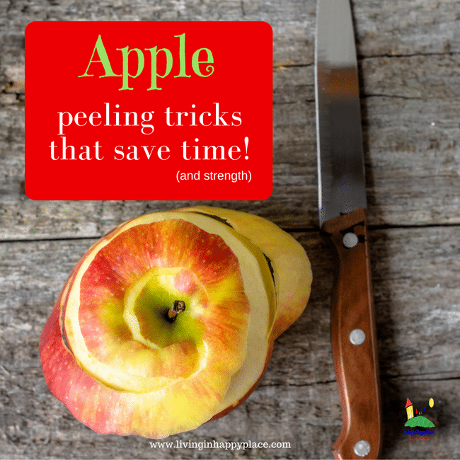 peel and slice apples easily!