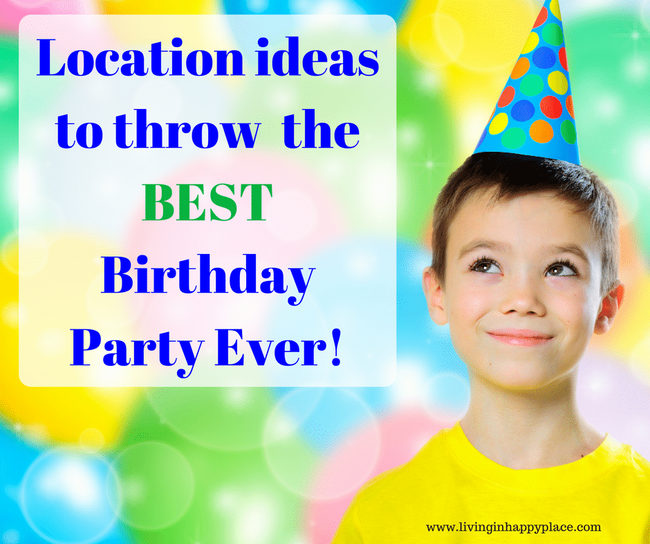 party location ideas