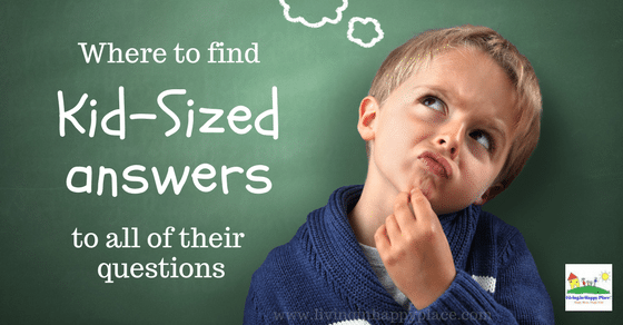 Resources to find kid-sized answers to your child's questions
