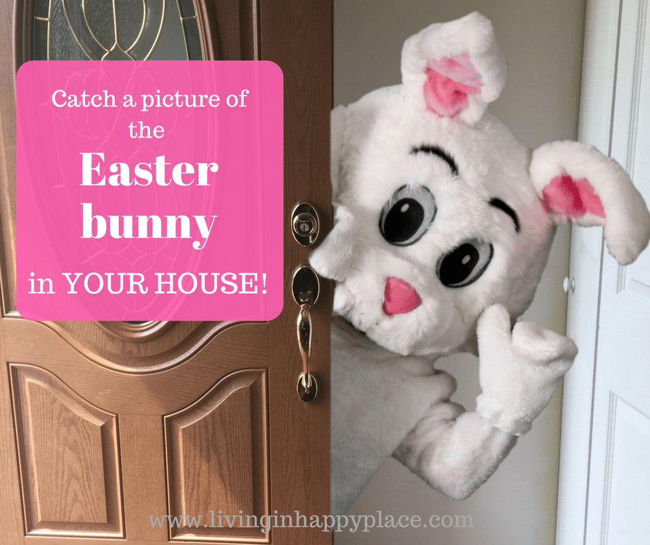 Catch a picture of the Easter bunny in your house