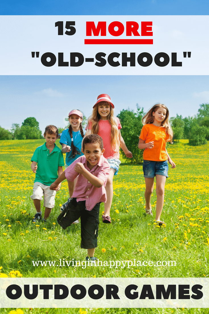 15 things for kids to do outside