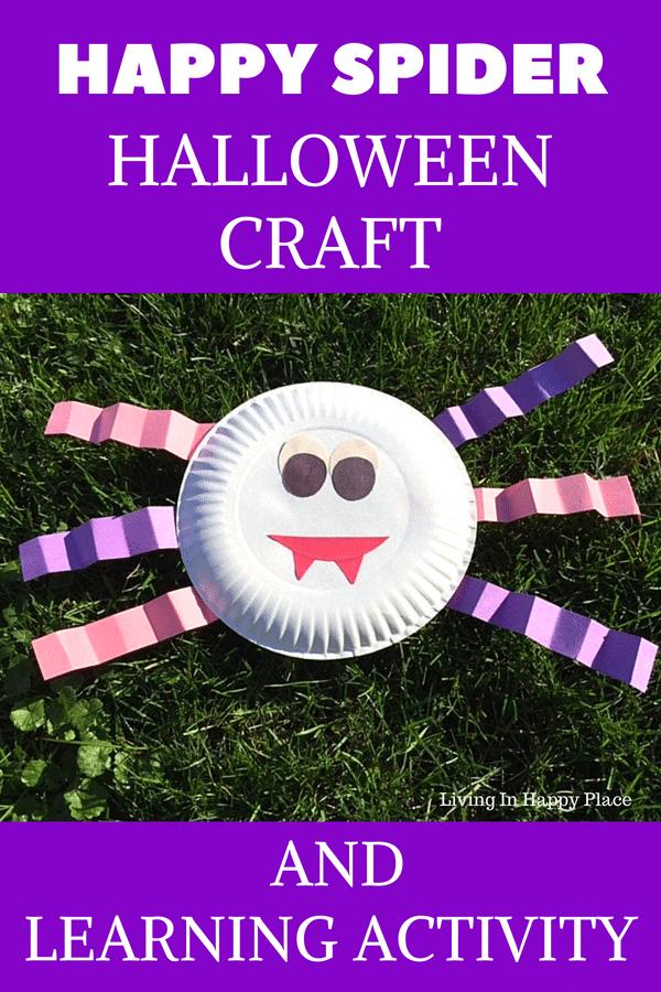 Halloween craft spider