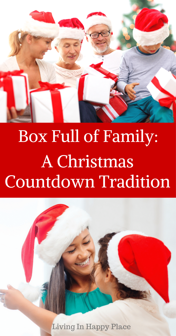 Christmas Countdown Idea for families! Start a new family Christmas tradition and slow down this holiday to take some time with family.