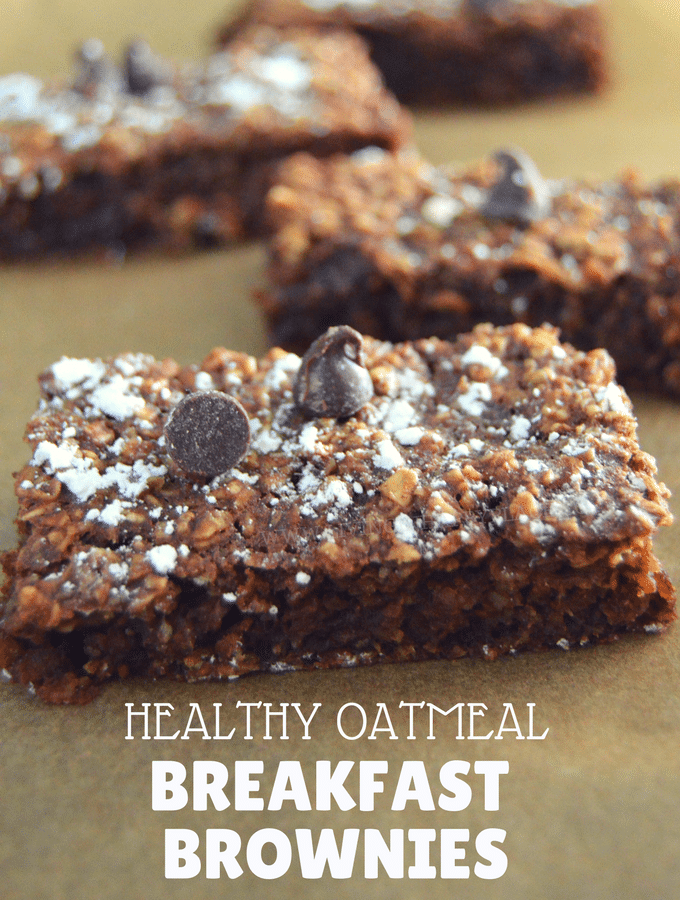 Chocolatey and Healthy Oatmeal Breakfast